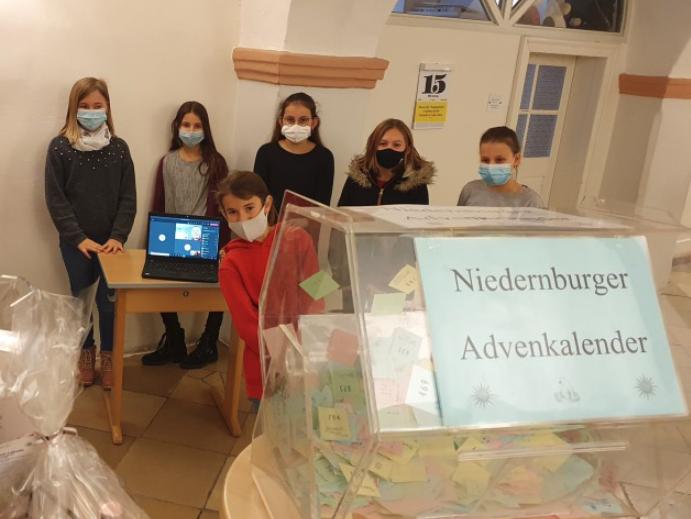 Niedernburger Schülerinnen sorgen für gute Werke